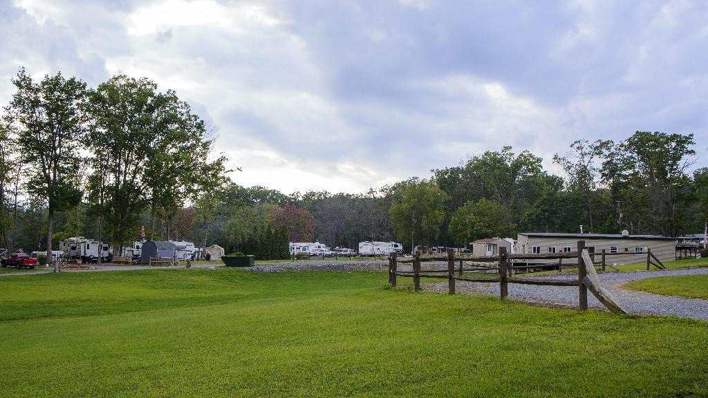 pa dutch campsite camping area
