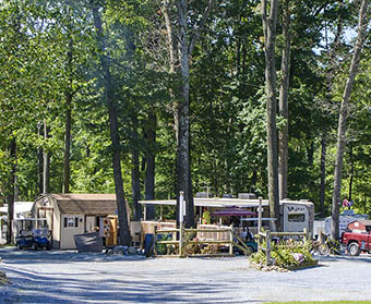 campsites at PA Dutch Campground